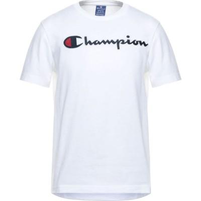 チャンピオン CHAMPION メンズ Tシャツ トップス T-Shirt White