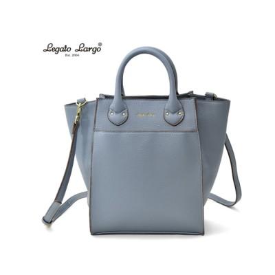 Legato Largo(レガートラルゴ)フェイクレザーミドル2WAYショルダーバッグ ショルダーバッグ・斜め掛けバッグ, Bags