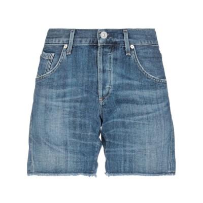 クローズド CLOSED デニムショートパンツ ブルー 24 コットン 100% デニムショートパンツ