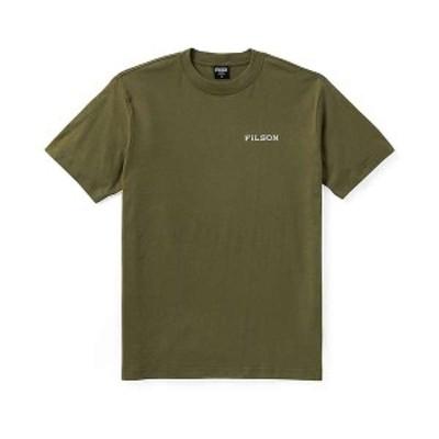 フィルソン メンズ Tシャツ トップス Filson Men's Ranger Graphic T-Shirt Burnt Olive