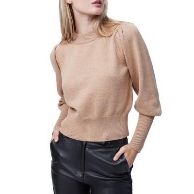フレンチコネクション ニット&セーター アウター レディース Puff-Sleeve Sweater Camel Melon