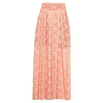 KOSTUMNº1 GENYAL! ロングスカート サーモンピンク L ナイロン 92% / ポリウレタン 8% ロングスカート