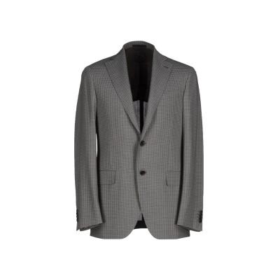 カルーゾ CARUSO テーラードジャケット グレー 56 ウール 100% テーラードジャケット
