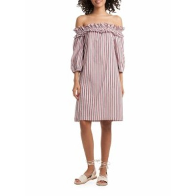 トリーナ ターク レディース ワンピース Stripe Anthurium Dress