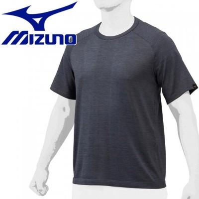 メール便送料無料 ミズノ 【ミズノプロ】ジャガードTシャツ メンズ 12JA1T8609