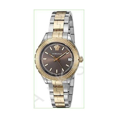 Versace Women's 'HELLENYIUM' Swiss Quartz Stainless Steel Casual Watch (Model: V12040015)--並行輸入品--
