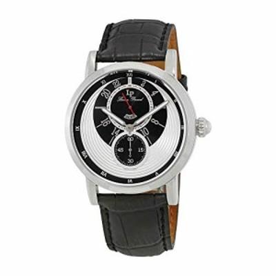 腕時計 ルシアンピカール メンズ Lucien Piccard Santorini Dual Time Men's Watch 40043-02S