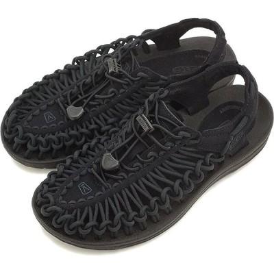 KEEN キーン レディース サンダル 靴 UNEEK 3C WOMEN ユニーク スリーシー Black/Black 1014099