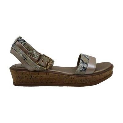 レディース 衣類 トップス Lucca Lane Womens Karel Fabric Open Toe Casual Ankle Strap Sandals ブラウス&シャツ