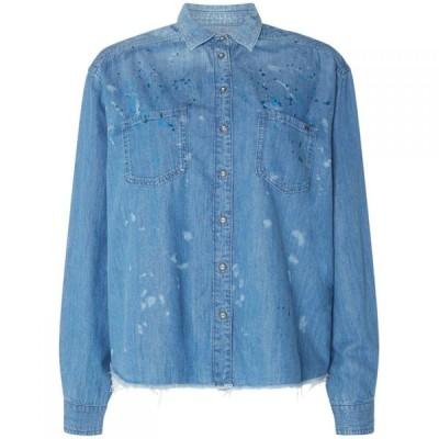 ペペジーンズ Pepe Jeans レディース ブラウス・シャツ トップス Shirt DENIM