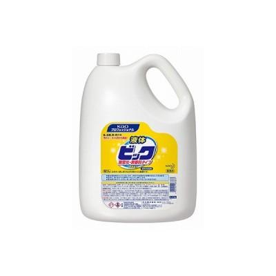 花王 液体ビック 無蛍光・無香料タイプ 4.5kg×4本 業務用 洗濯洗剤