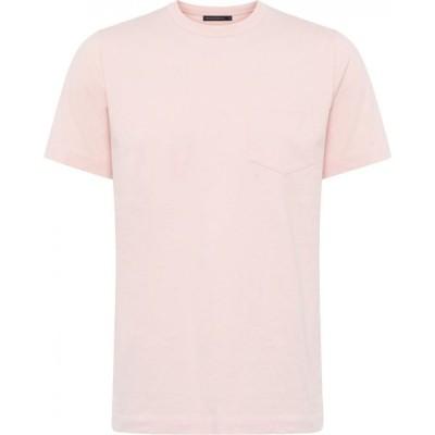 フレンチコネクション French Connection メンズ Tシャツ ポケット トップス Organic Vintage Pocket T-Shirt Pink Lotus