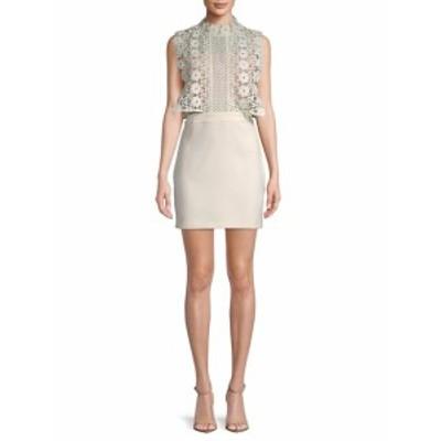 エンドレスローズ レディース ワンピース Floral Lace Mini Dress