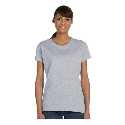 レディース 衣類 トップス Fruit of the Loom Women's Athletic Crewneck T-Shirt Style L3930R Tシャツ