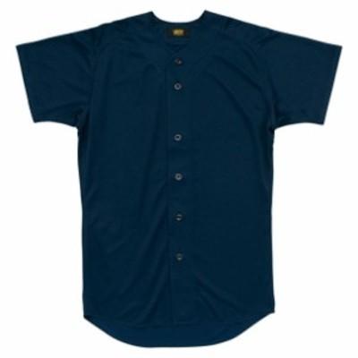 ユニフォームシャツ【ZETT】ゼットヤキュウソフトユニフォーム シャツ・M(BU1071-2900)