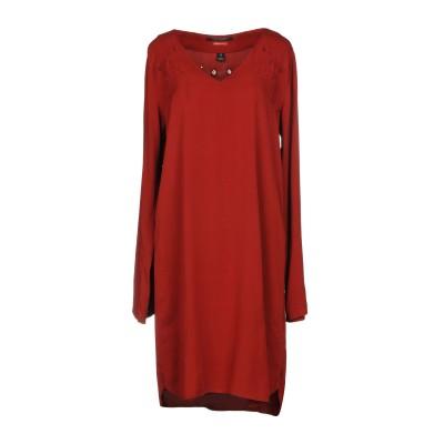メゾンスコッチ MAISON SCOTCH ミニワンピース&ドレス 赤茶色 2 テンセル 58% / レーヨン 42% ミニワンピース&ドレス