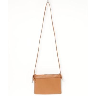 SHICATA / イタリアンシープレザー薄マチショルダー WOMEN バッグ > ショルダーバッグ