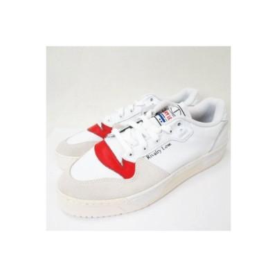 【中古】未使用品 アディダスオリジナルス adidas originals RIVALRY LOW EF6418 US 9 1/2 27.5cm リバルリー ロー スニーカー 靴 白  メンズ ベクトル 古着】