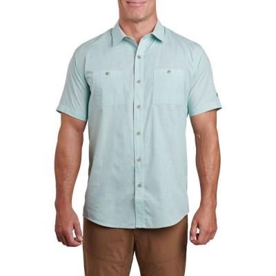 キュール KUHL メンズ 半袖シャツ トップス Karib Short - Sleeve Shirt Seafoam Green