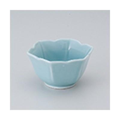小付 和食器 / 桔梗小付ブルー 寸法:8.5 x 7.5 x 4.5cm