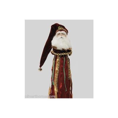 海外セレクション コレクター用品 Katherine's コレクション クリスマス NATIVITY SANTA Bottle Tassel Topper フィギュア 人形 ドール