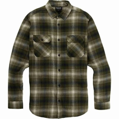 バートン Burton メンズ シャツ スリム ネルシャツ トップス Brighton Slim Flannel Shirt Keef Bad Hombre Plaid