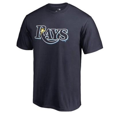 """メンズ Tシャツ """"Tampa Bay Rays"""" Team Color Primary Logo T-Shirt - Navy"""