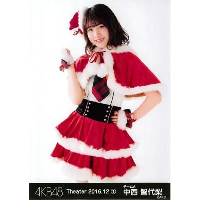 中西智代梨 生写真 AKB48 2016.December 1 月別12月 A