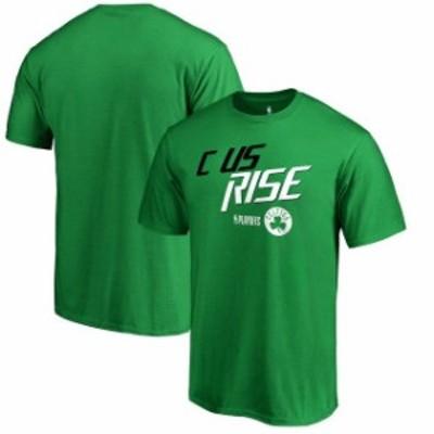 Fanatics Branded ファナティクス ブランド スポーツ用品  Fanatics Branded Boston Celtics Green 2018 NBA Playoffs