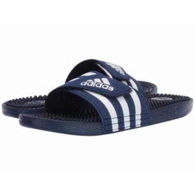 adidas アディダス メンズ 男性用 シューズ 靴 サンダル adissage Dark Blue/Footwear White/Dark Blue【送料無料】