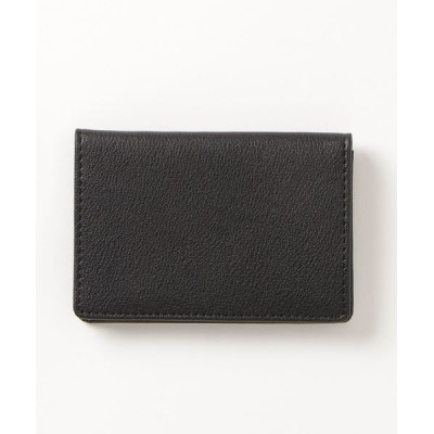 COMME CA ISM / レザー 2つ折りカードケース WOMEN 財布/小物 > カードケース