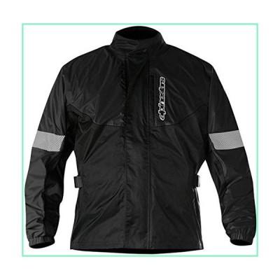 Alpinestars Men's Hurricane Rain Motorcycle Jacket, Black, Large【並行輸入品】