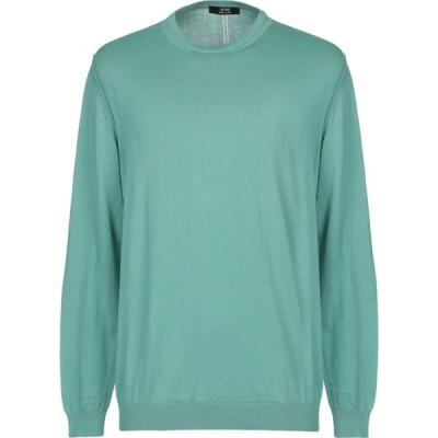 マスク +39 MASQ メンズ ニット・セーター トップス sweater Light green
