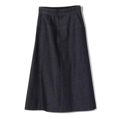 【シップス/SHIPS】 Nell:デニムAラインスカート