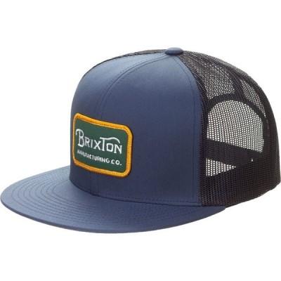 ブリクストン 帽子 メンズ アクセサリー Grade Mesh Cap Washed Navy/Evergreen