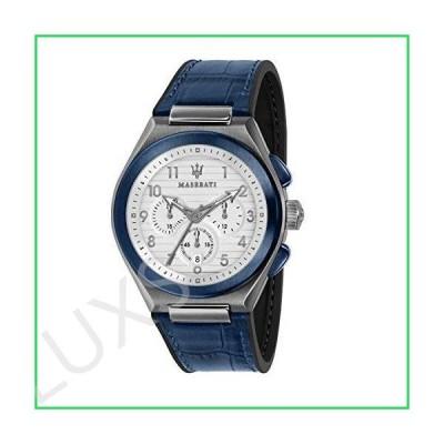 Maserati R8871639001 Blue Steel 316 L Man Watch 並行輸入品