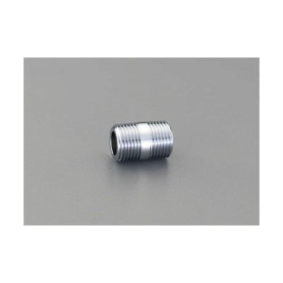 "ESCO R 1/2""xR 1/2"" 給水管ニップル(クロムメッキ) EA432MD-13"