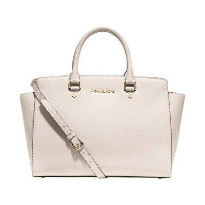 MICHAEL Kors Large East West Selma Satchel in Vanilla【並行輸入品】