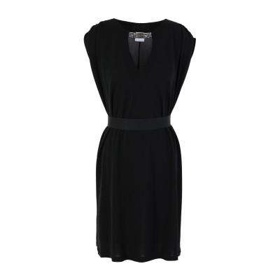GAëLLE Paris ミニワンピース&ドレス ブラック 38 レーヨン 100% ミニワンピース&ドレス