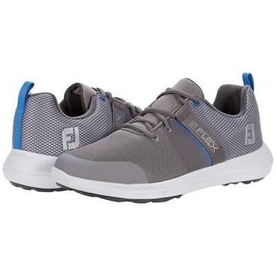 フットジョイ Flex メンズ スニーカー 靴 シューズ Grey/Blue