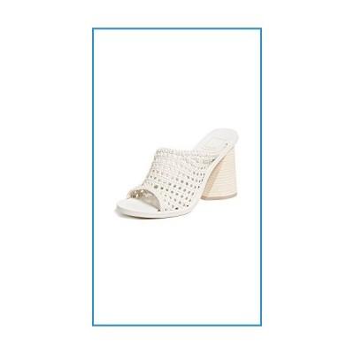 新品Dolce Vita Women's Anton Woven Block Heel Sandals, Ivory, White, Off White, 8.5 M US【並行輸入品】