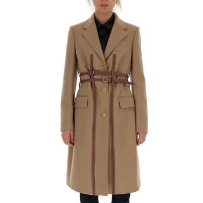 バーバリー レディース コート アウター Burberry Harness Detail Tailored Coat -