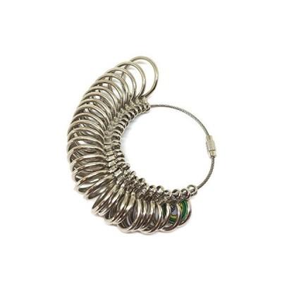 wumio リングゲージ 日本規格28号まで 指輪のサイズ測定 自宅で簡単に計測可能 ネット通販で指輪を買うときに便利