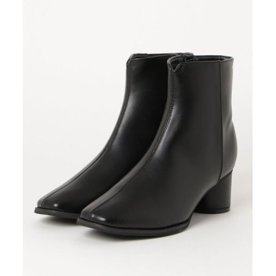 chumchum / SUGAR SUGAR /スクエアトゥセンターシームブーツ WOMEN シューズ > ブーツ