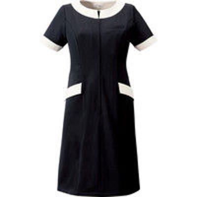 チトセチトセ ワンピース 女性用 ブラック 15号 CL-0240(取寄品)