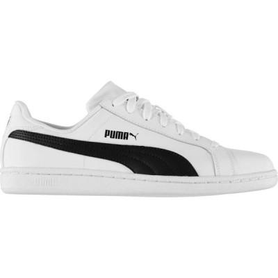 プーマ Puma メンズ スニーカー シューズ・靴 Smash Trainers White/Black