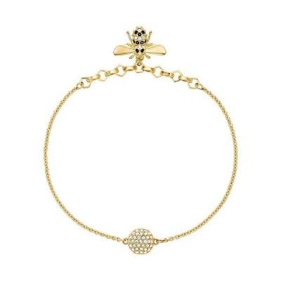 SWAROVSKI Remix Collection Bee Bracelet Gold Plating/Teal One Size
