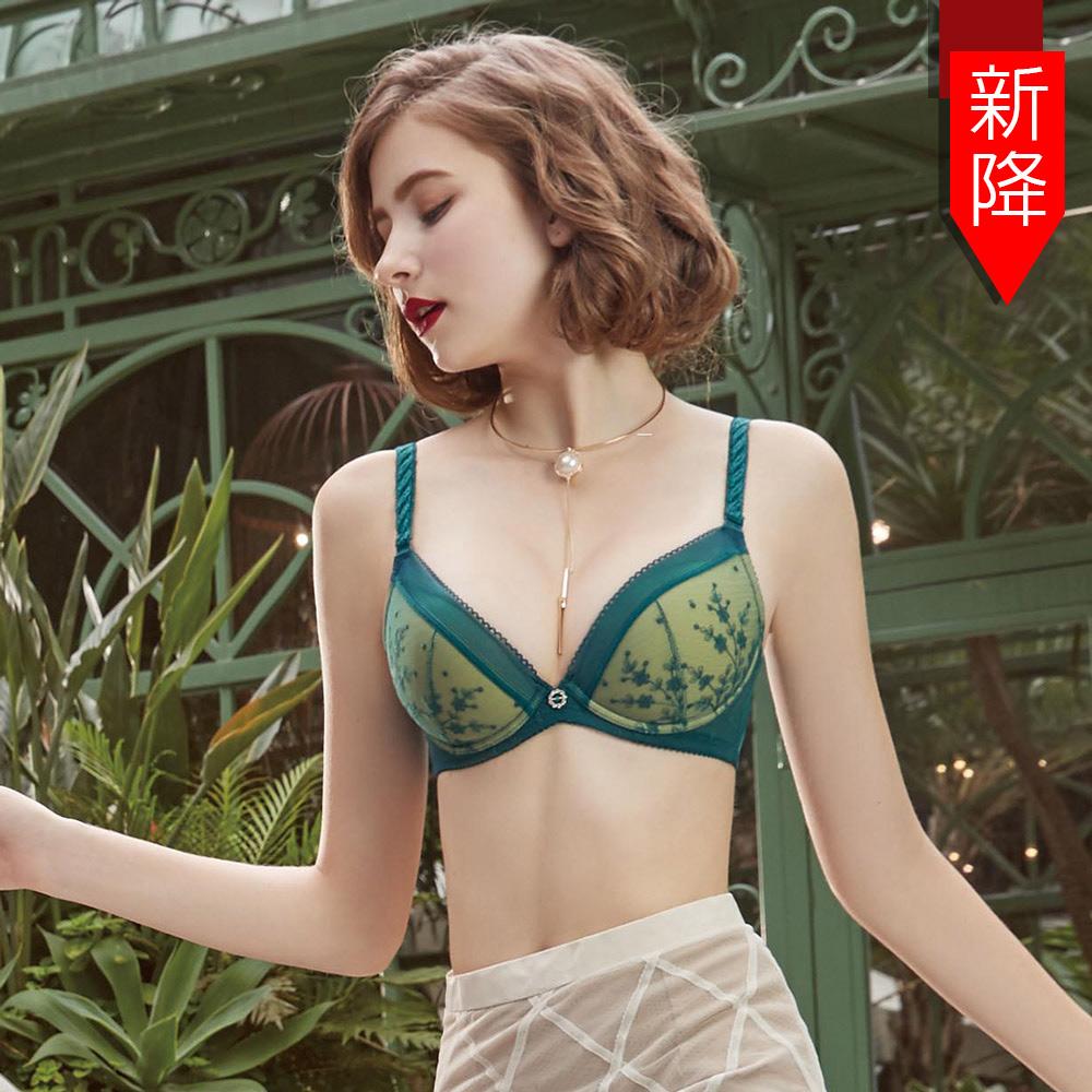 【瑪登瑪朵】反正都美Bra內衣  A-F罩杯(沉靜綠)