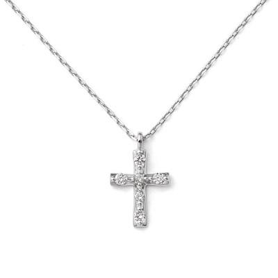 ネックレス レディース プラチナ ダイヤモンド シンプル ブルーム 母の日 ギフト プレゼント 普段使い
