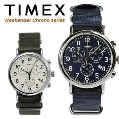 TIMEX クロノグラフ 腕時計 メンズ TW2P71300 tw2p71400 ネイビー カーキ(オリーブ) ナイロン ストラップ